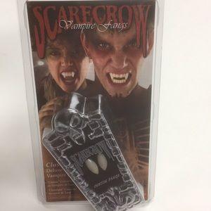 Scarecrow vampire fangs new
